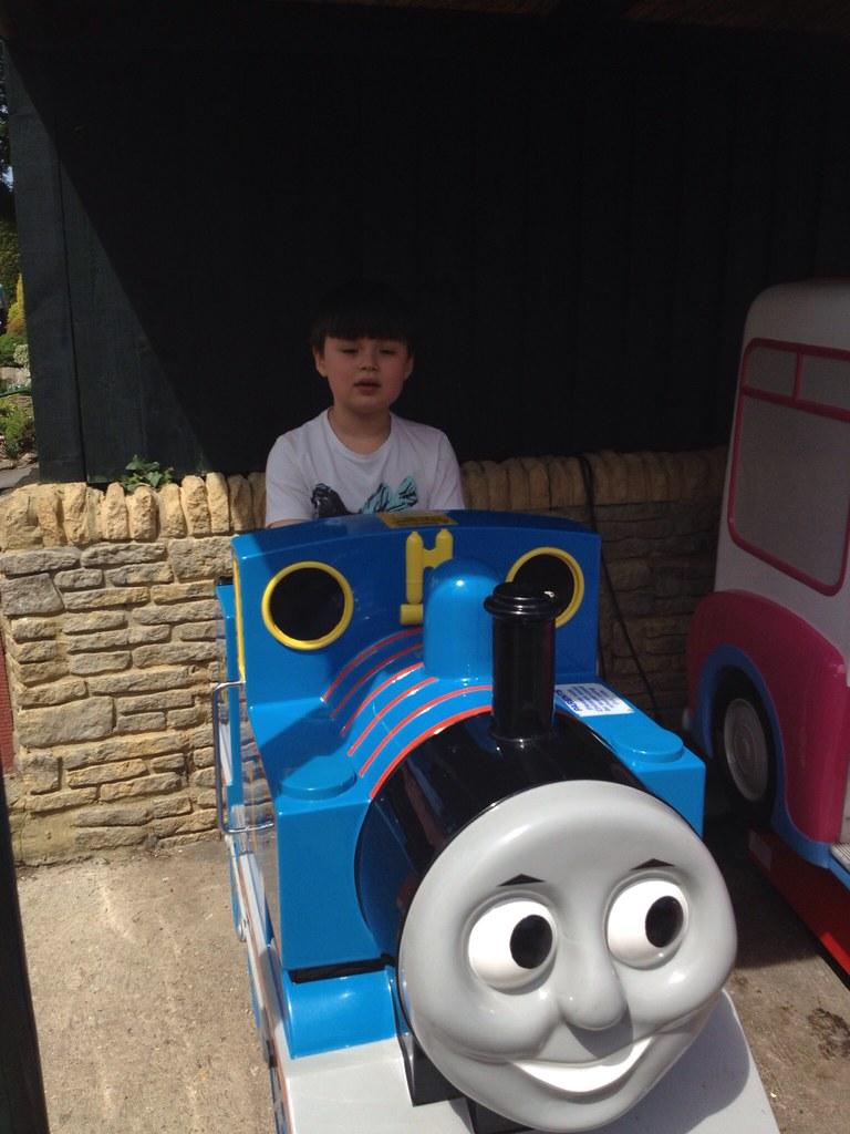 Thomas The Tank Engine At Bekonscot Model Village