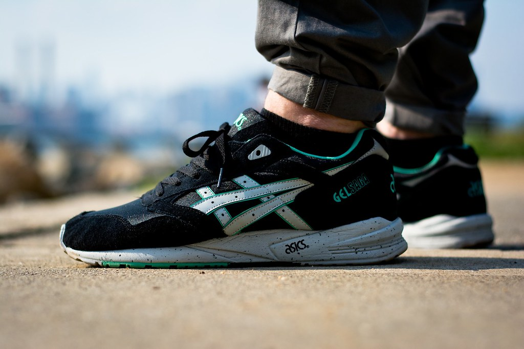 BAIT x ASICS Gel Saga RIngs Pack 'Black' SneakerFiles