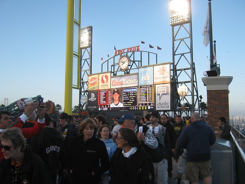 The Giants Scoreboard