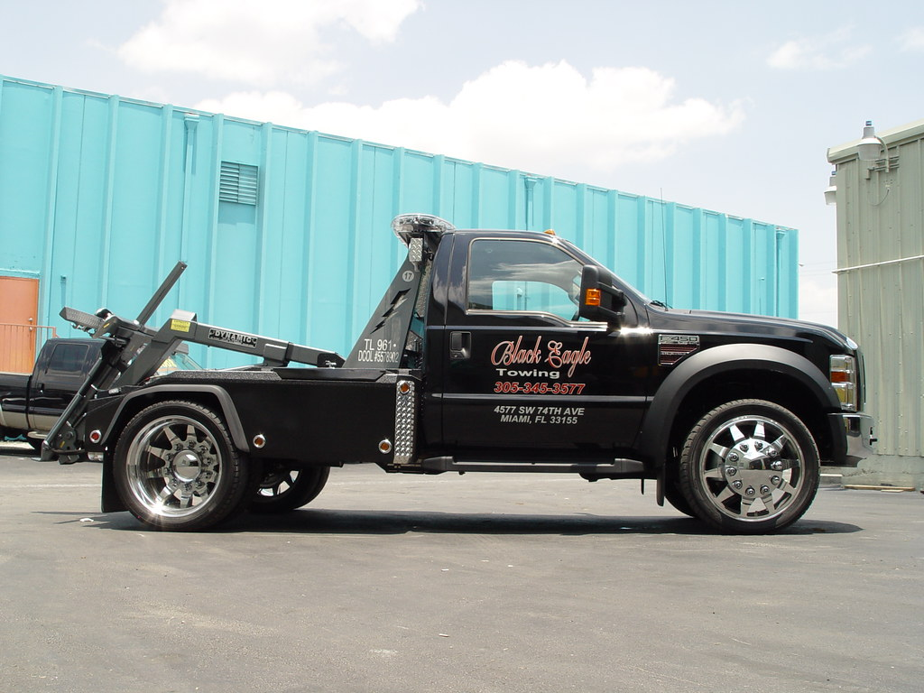 Low Profile Dually 2008 Ford F450 Towtruck Independen