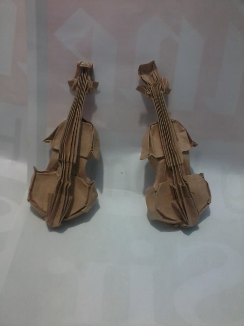 origami violingen hagiwara first and second try flickr