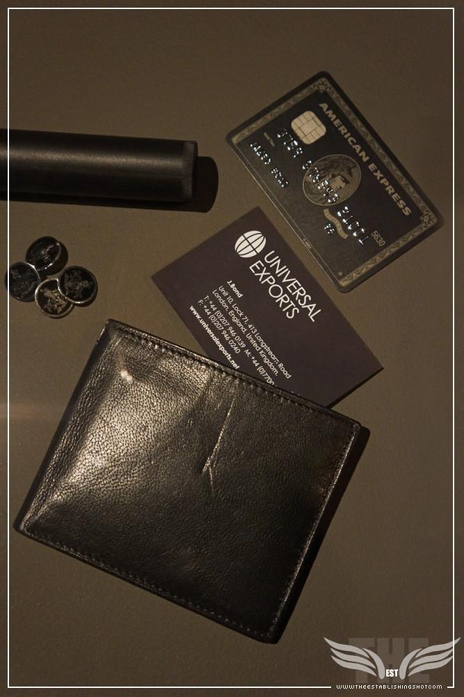 The establishing shot bond in motion silencer tom ford for Business centurion card
