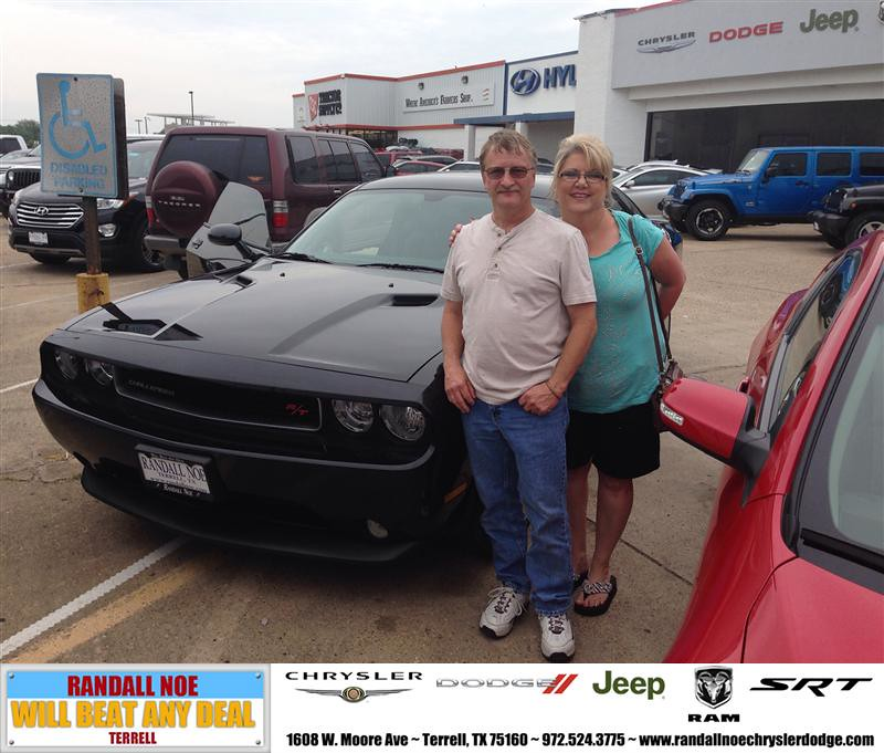 Randall Noe Dodge >> Congratulations to Keith Howard on your #Dodge #Challenger ...