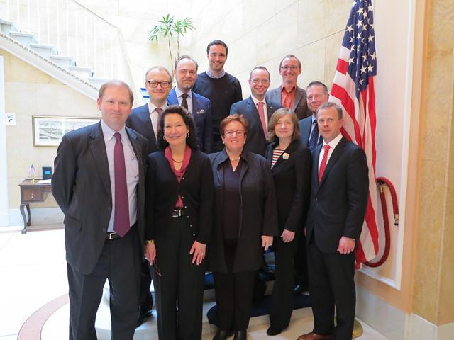 TTIP Informationen im US Generalkonsulat Hamburg