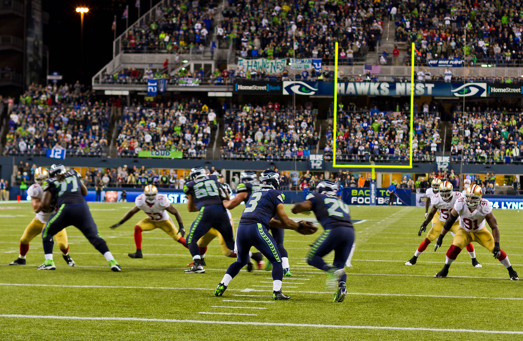 Loudest crowd roar at a sports stadium Seahawks-14 by Philip Robertson, on Flickr