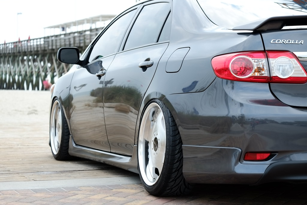 2011 Toyota Corolla Megan Coilovers Uas Aerosport Bags