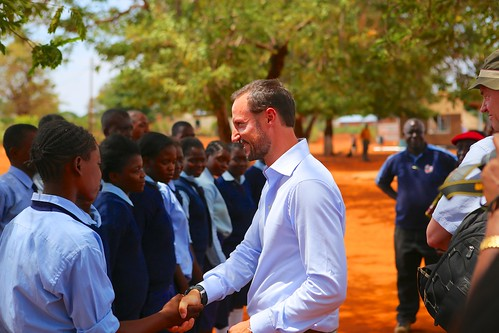 UNDP Goodwill Ambassador Crown Prince Haakon of Norway visit to Mukuni village, Zambia | by United Nations Development Programme