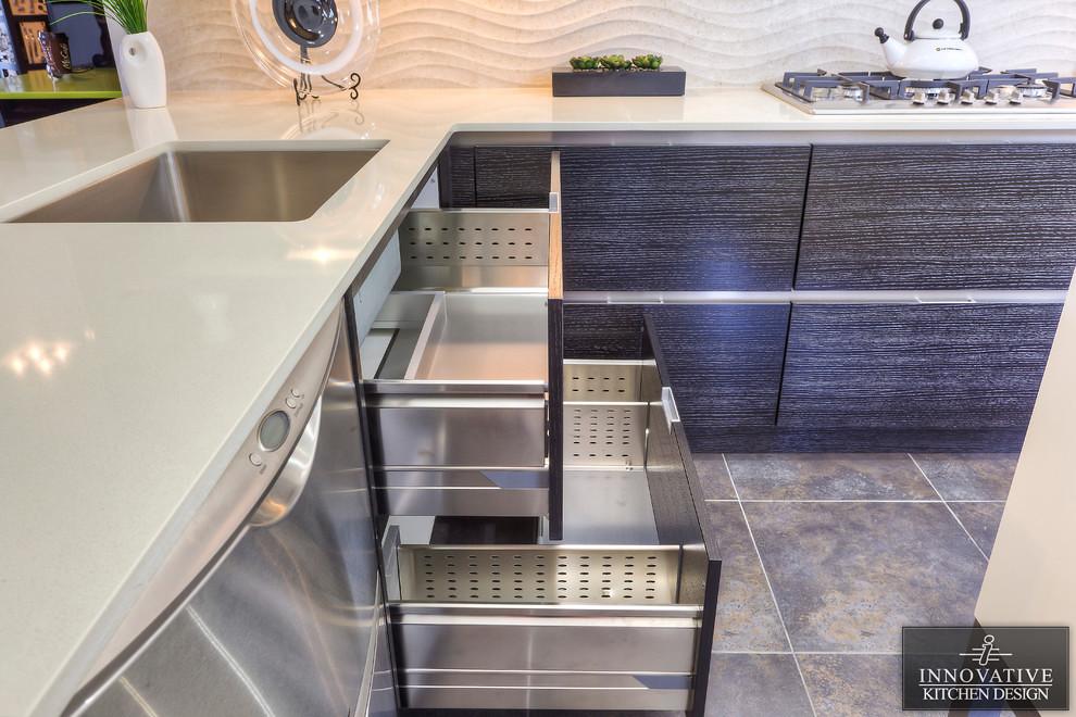 Innovative kitchen design contemporary kitchen with alum for Cabinex kitchen designs st catharines