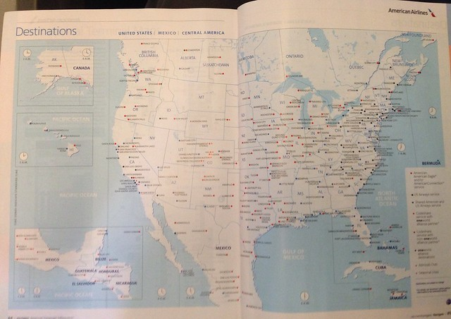 Us Airway Map Images Us Airways Route Map America From - Us airways destinations map