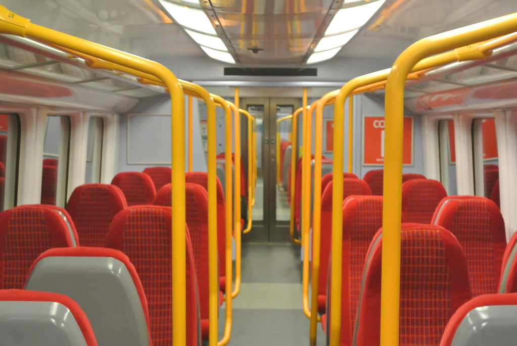 South West Trains Class 458 531 Interior Class 4585