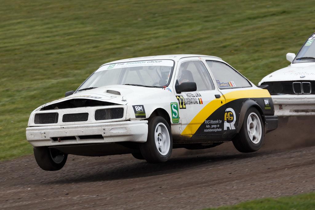 Kurt Lambers Ford Sierra British Rallycross Championshi