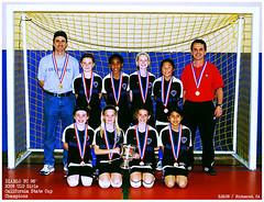 u10 girls Galaxy Champions State Cup 2009