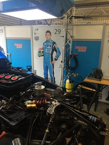 Ho-Pin Tung & his Le Mans LMP2 car