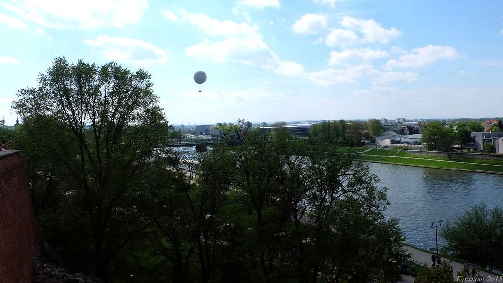 Baloon from Wawel Royal Castle, Kraków, Polska