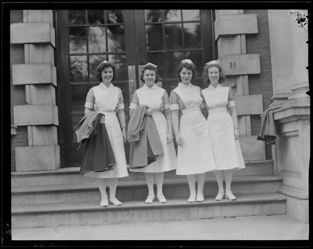 Wwii Nurses At Franklin Square House Flickr Photo Sharing