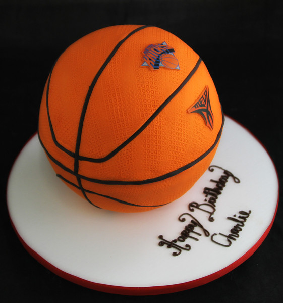 Basketball Shaped Cake 3d Basketball Shaped Cake Covered