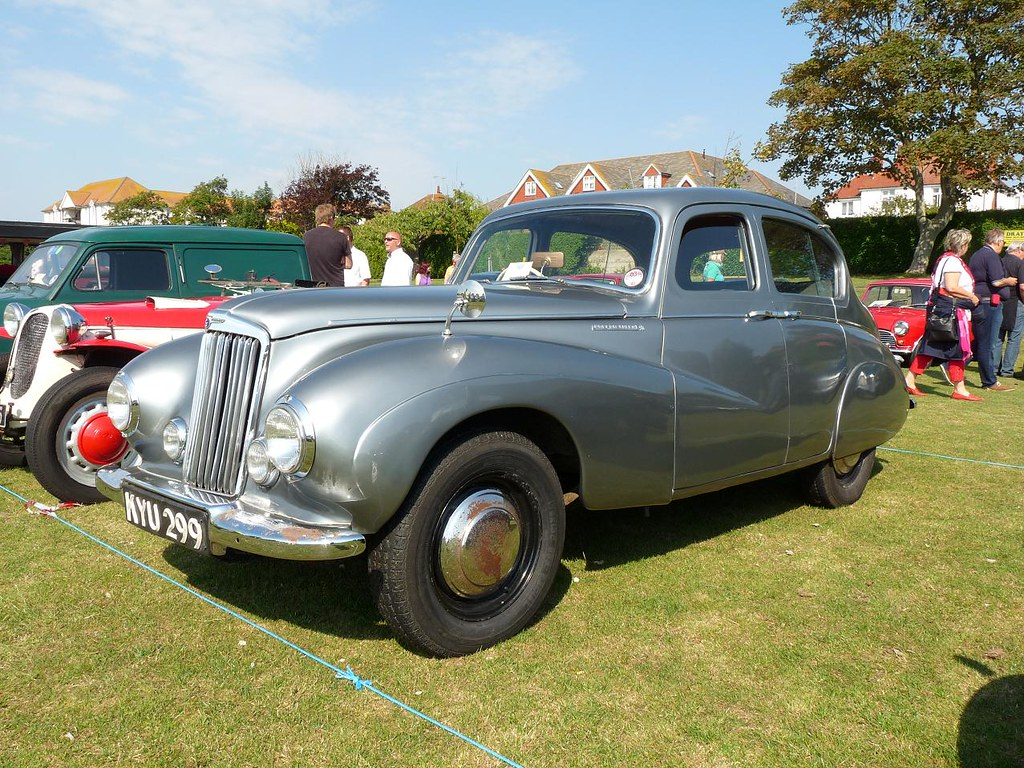 Sunbeam Talbot 1950 Bexhill 100 Motor Club Classic And