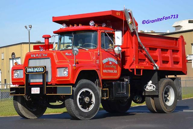 R Model Mack Show Truck : Mack r model dump truck flickr photo sharing