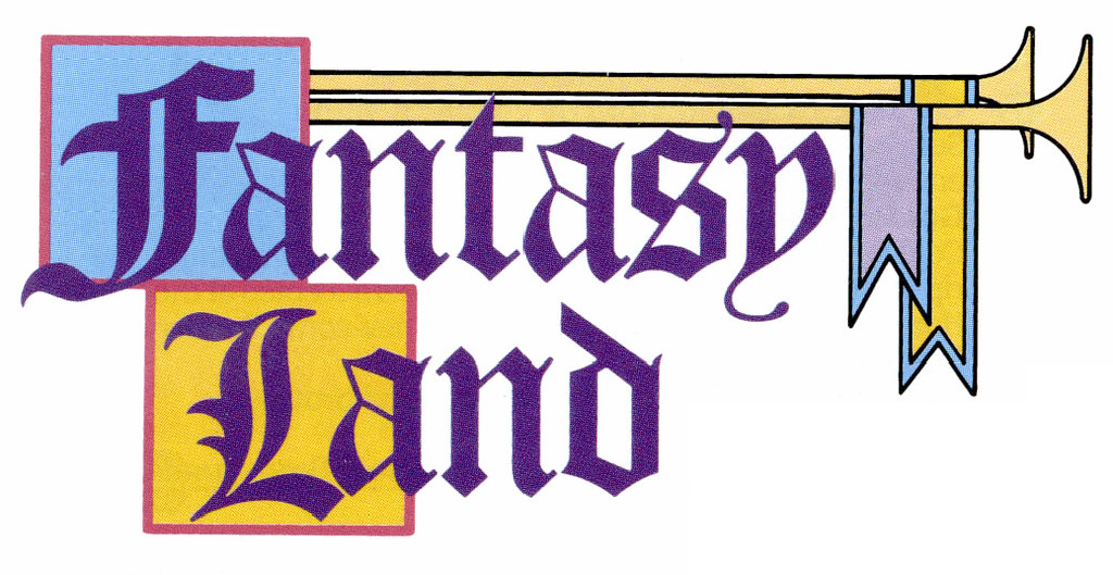 1990 disneyland logos fantasyland tom simpson flickr