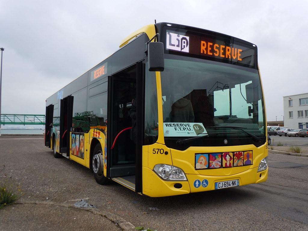 mercedes citaro c2 n 570 bus dell 39 arte hanin zone port. Black Bedroom Furniture Sets. Home Design Ideas