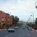 Ouarzazate, located in the middle of a bare plateau south of the High Atlas Mountains