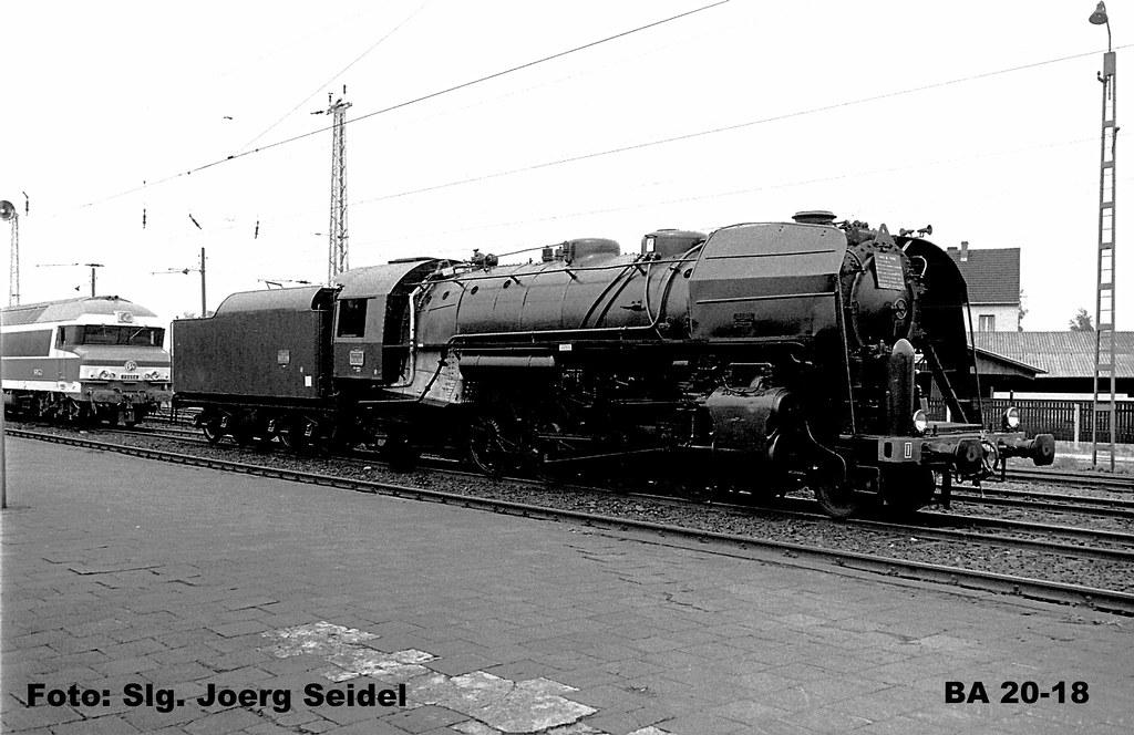 De 66722 Saarlouis Bahnhof Lokausstellung Dampflok Sncf 14