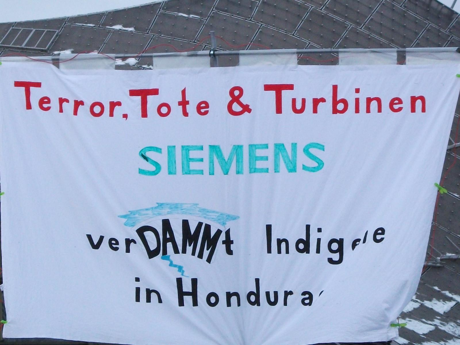 Siemens HV 2014 | by urgewald