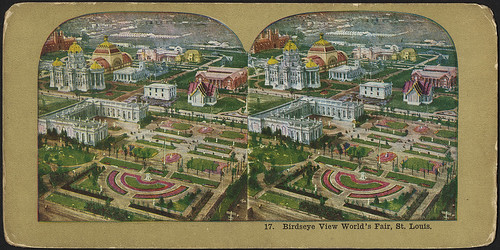 Birdseye view World's Fair, St. Louis