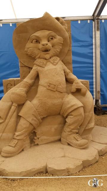 Swinemünde Sand Skulpturen Festival 201551