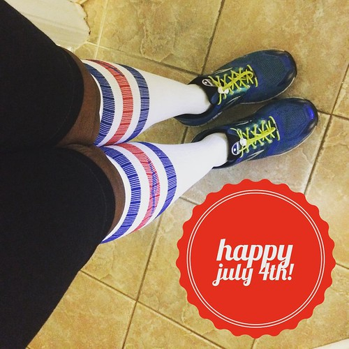 I'm representing for #America today in my @procompression  socks I hope everyone is having a great holiday and celebrating our great country! How are you celebrating the #fourthofjuly? #keepittight #celebration #redwhiteandblue