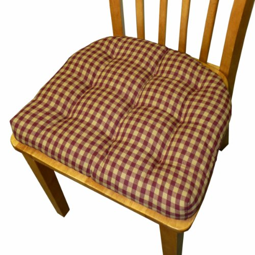 dining chair pad with ties