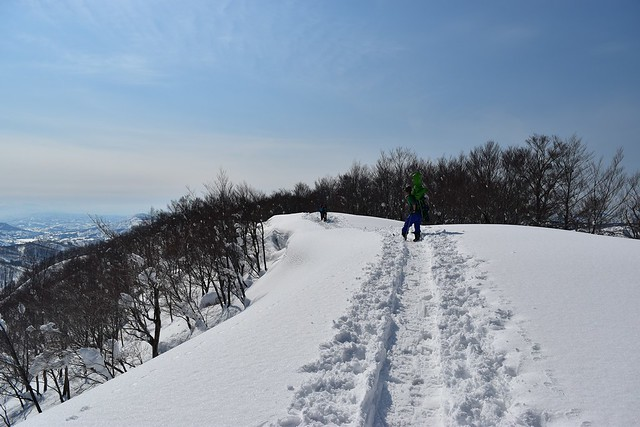 守門岳 日帰り雪山登山