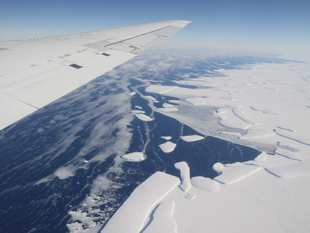 Antarctic Ice Shelf Loss Comes From Underneath Calving