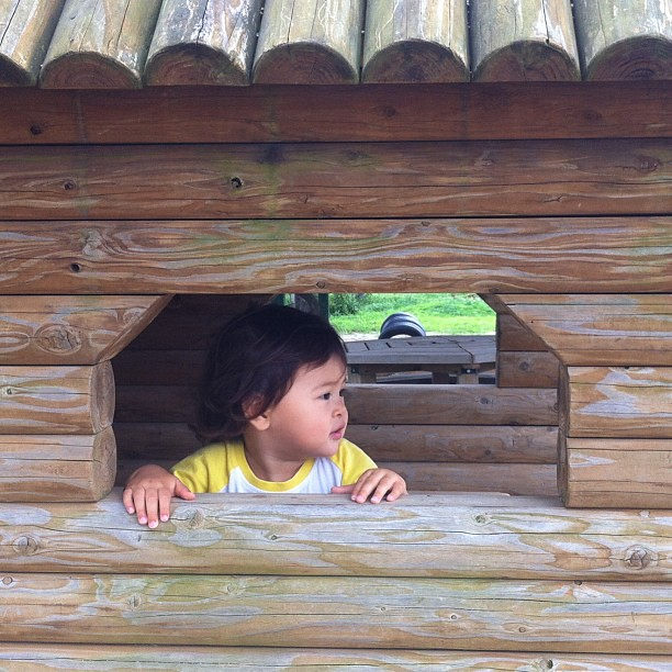 Qu bien se est en la casita de madera - La casita de madera ...