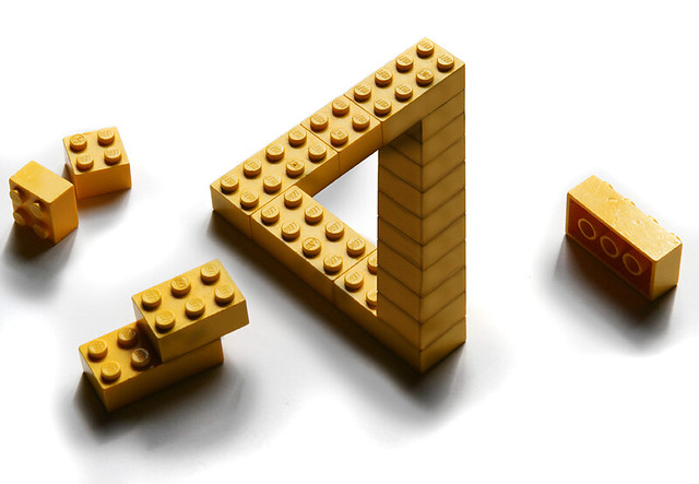 Penrose lego by Erik Johansson