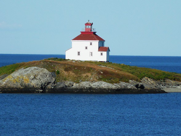 Queensport Lighthouse Guysborough County Nova Scotia Ca