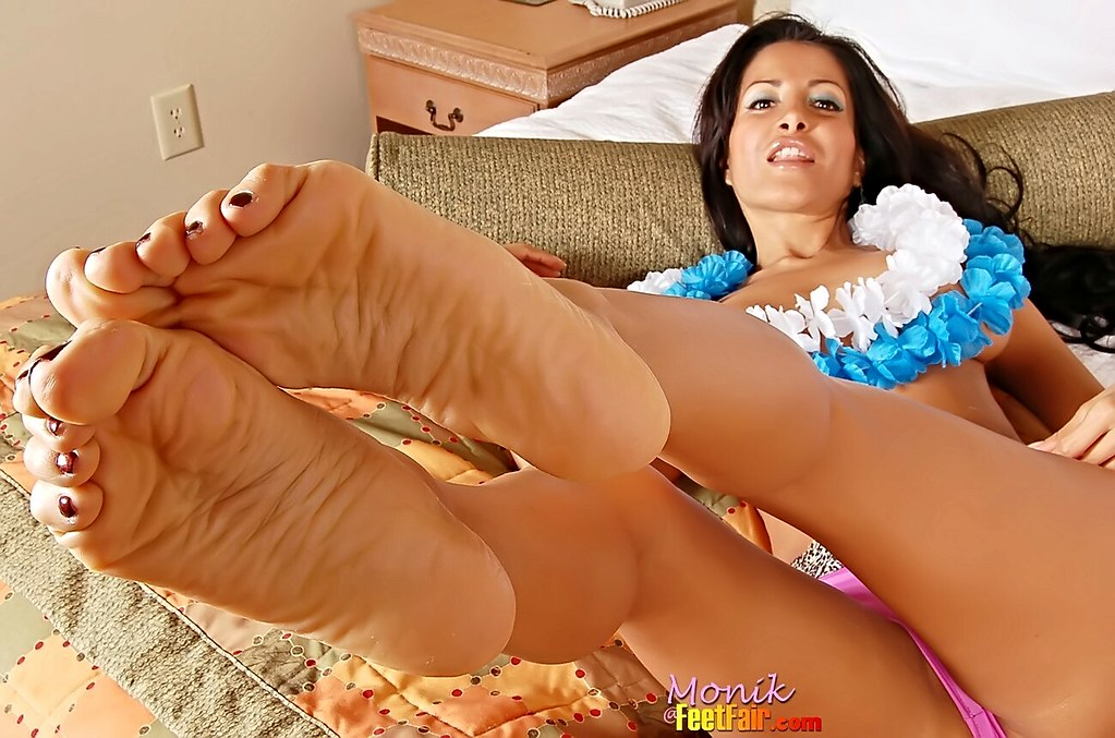 ebony feet fetish