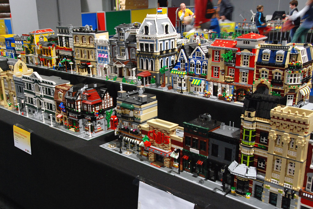 Lego City Custom Buildings