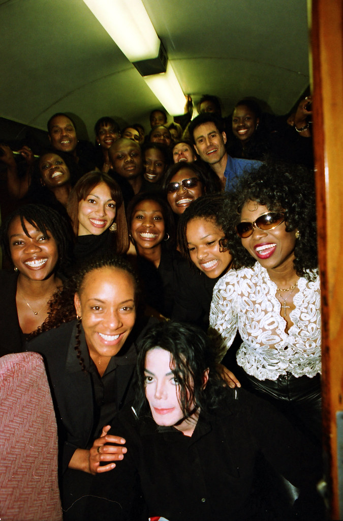 Image result for patti boulaye and michael jackson