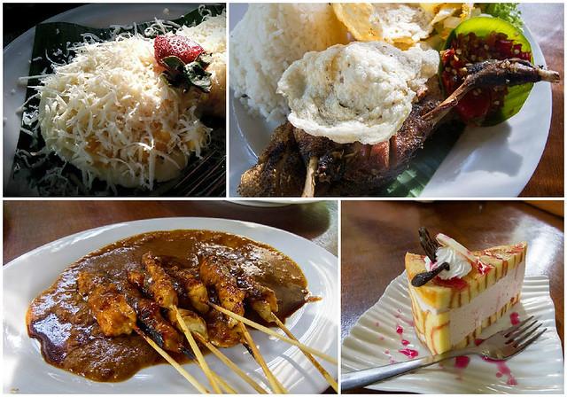 10 kampung daun food collage