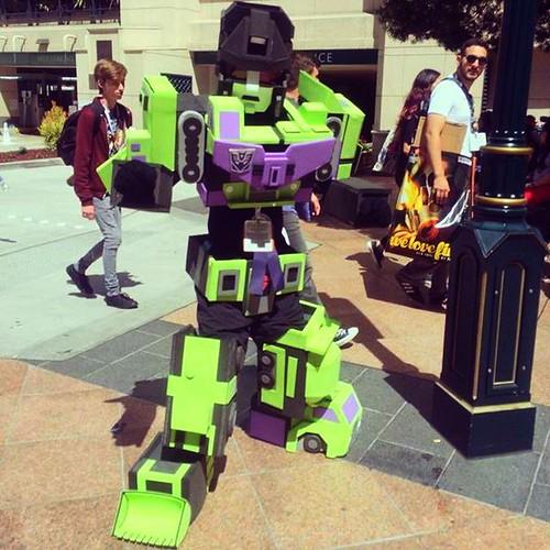 San Diego Comic-Con 2015 Cosplay - Transformers Devastator