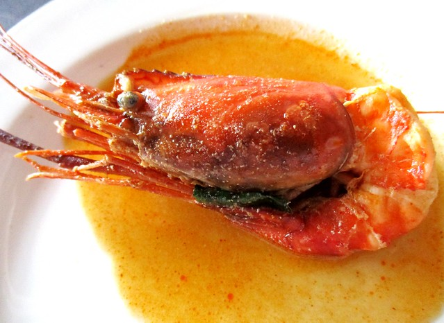 Flavours Thai Kitchen freshwater prawn