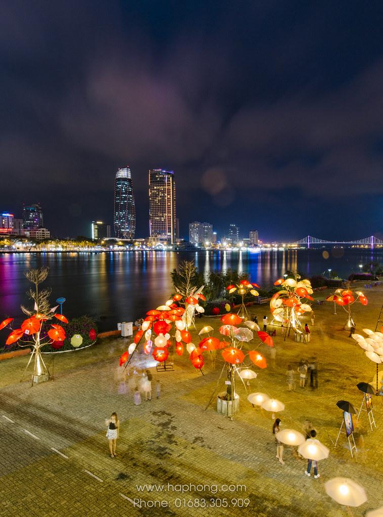 """Rực rỡ sắc màu cùng nghệ thuật sắp đặt Dù tại Đà Nẵng """"Nắng tháng ba"""" 09"""