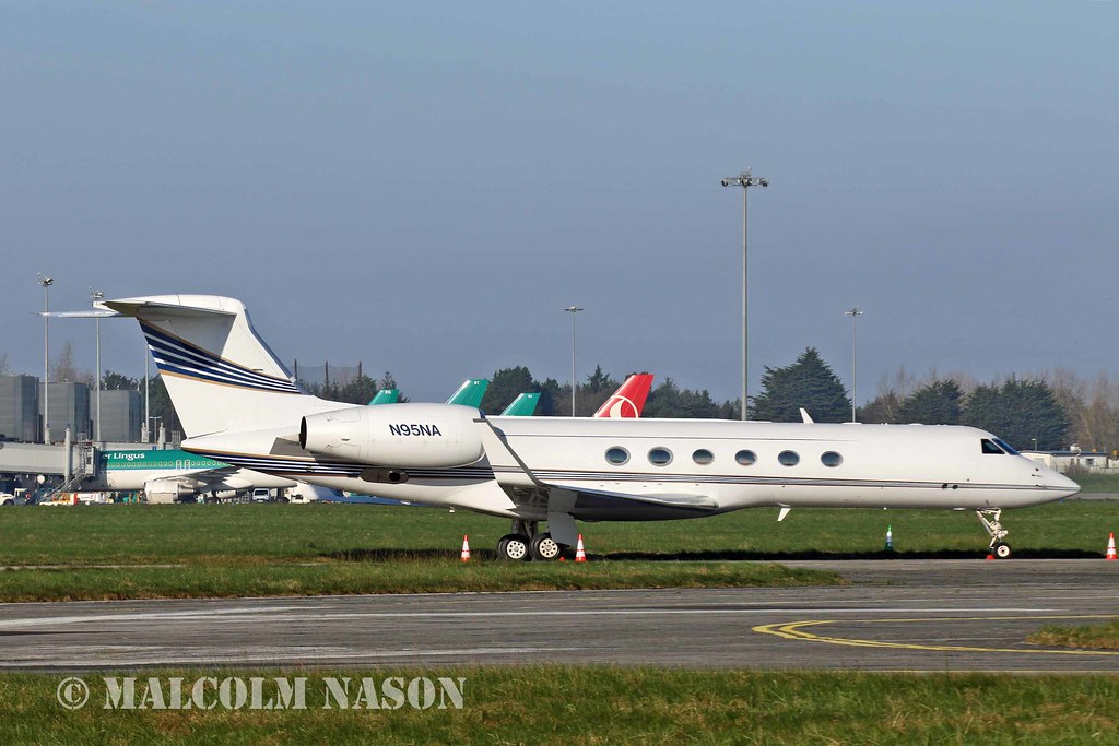 G1159D GULFSTREAM 5 N95NA NASA | Parked at Shannon after ...