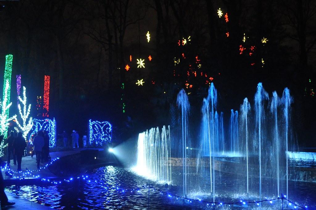 Christmas Light Atlanta Botanical Garden 2012 Atlanta Geor Randa2e Flickr