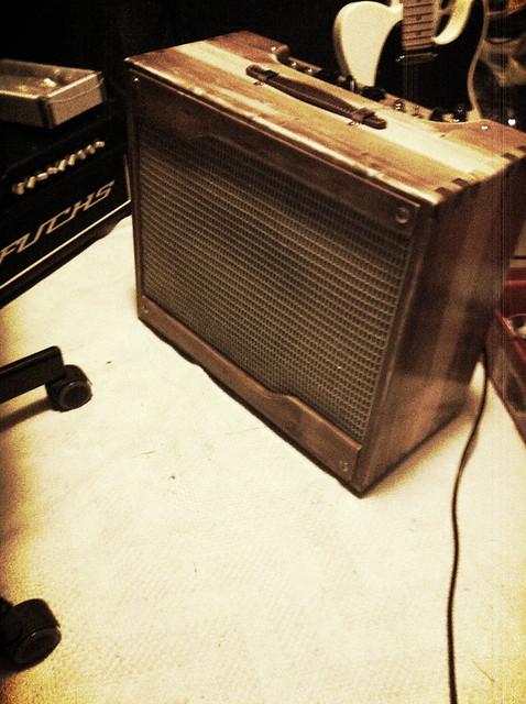 Glide String Ringer, a Dumble Steel String Singer type amp