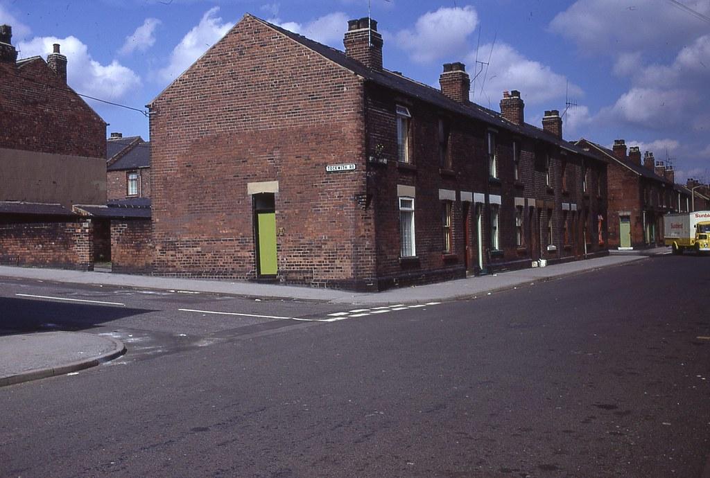 Junction Of Tockwith Road Amp Shirland Lane Darnall Sheffi