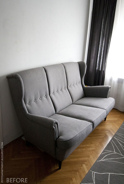 strandmon grey ikea sofa flickr photo sharing. Black Bedroom Furniture Sets. Home Design Ideas