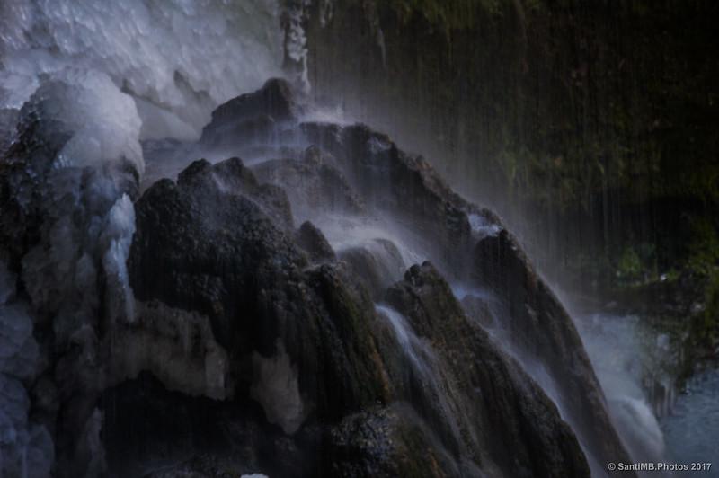 La cascada de La Foradada