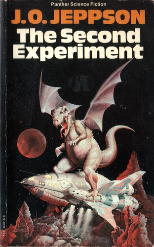 The Second Experiment by J.O. Jeppson. Panther 1975. Cover artist Peter Andrew Jones